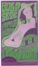 Lot 640: Bill Graham Fillmore Poster BG-36