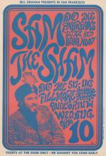 Lot 636: Bill Graham Poster Sam The Sham BG-22-RP-2
