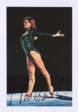 Lot 658: Female Athletes Signed Photos, Index, Postcard COA