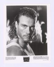 Lot 664: Jean-Claude Van Damme Signed Index Card COA