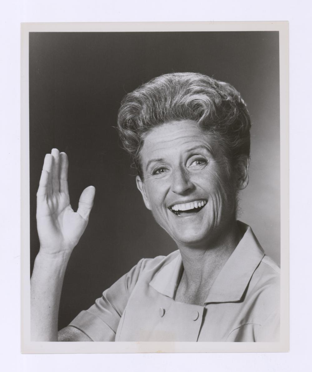 Lot 665: Ann B. Davis Signed Index Card, Unsigned Photo COA