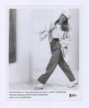 Lot 672: Christie Brinkley Signed Photo Beckett COA