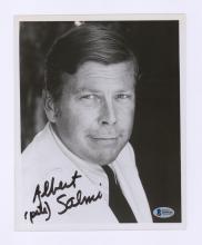 Lot 680: Albert Salmi Signed Photo Beckett COA