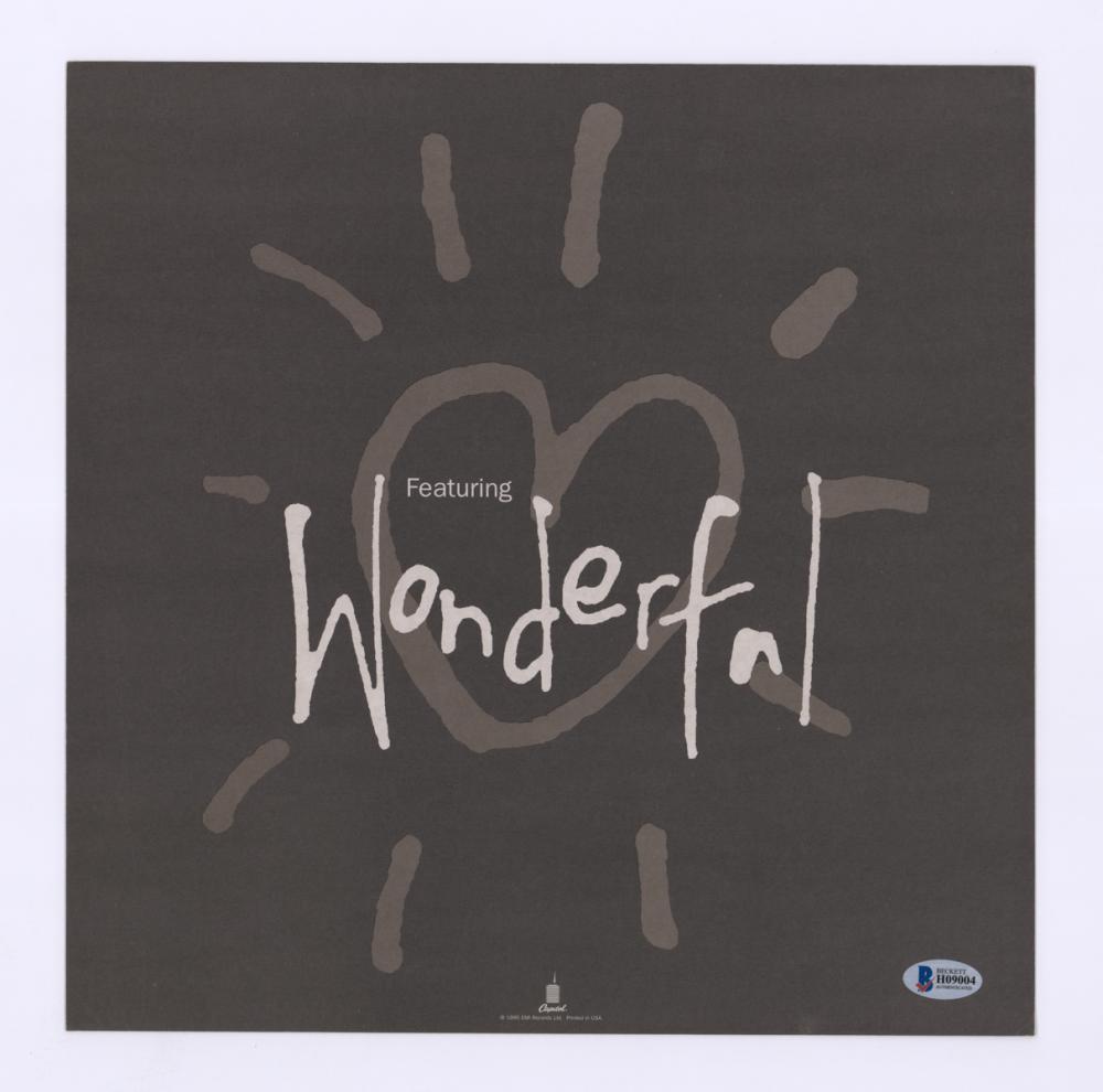 Lot 760: Adam Ant Signed LP Record Promo (Album Flat)