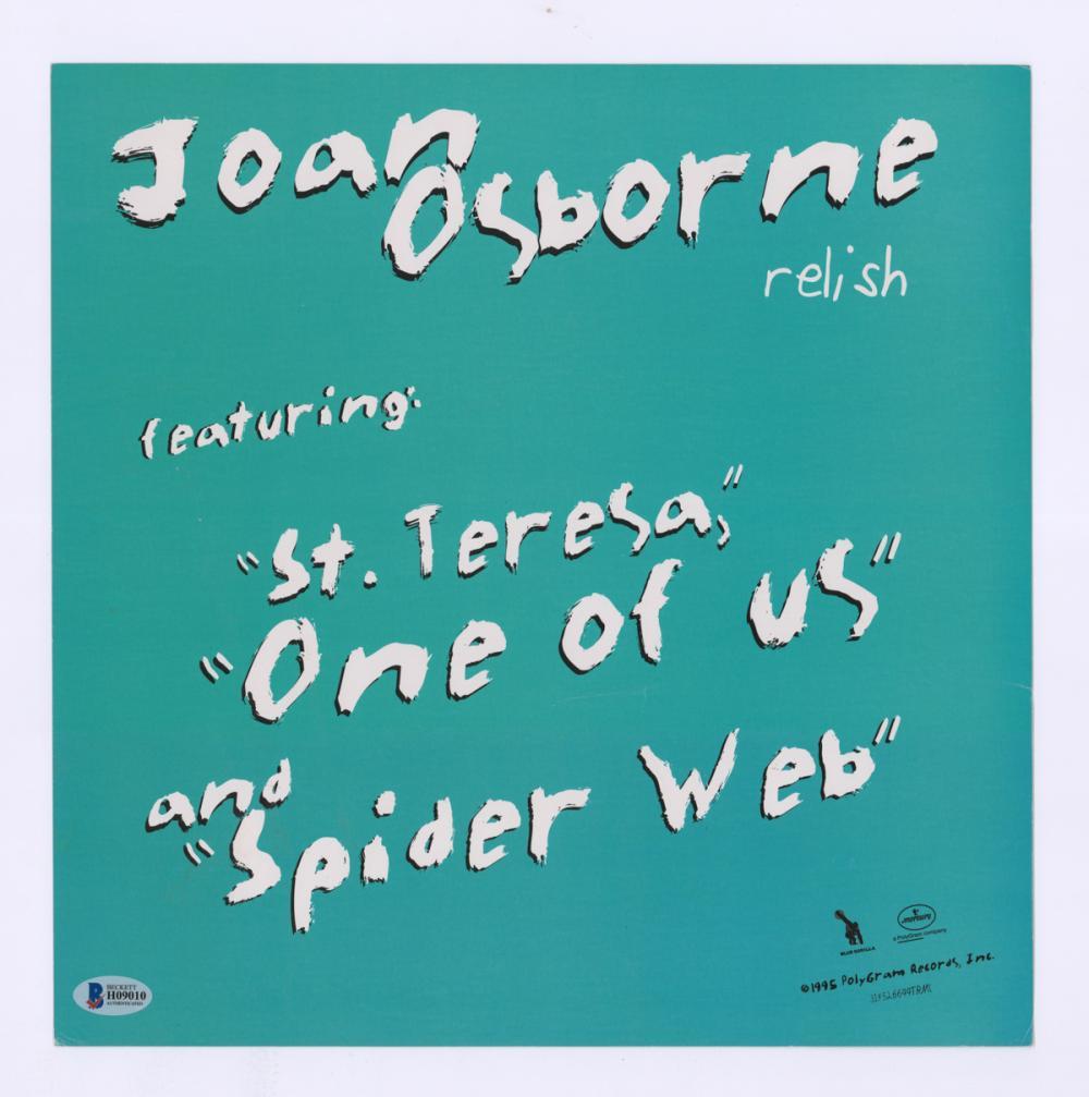 Lot 757: Joan Osborne Signed LP Record Promo (Album Flat)