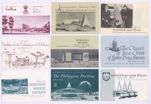 Lot 773: New York World's Fair Groundbreaking Booklets (36)