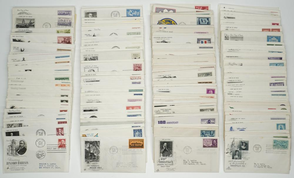 Lot 782: U.S. First Day Covers (259)