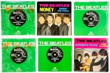 Lot 60: The Beatles (6) 45 RPM Records