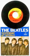 Lot 58: The Beatles, Yesterday 45 RPM Record