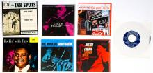 Lot 70: Various Artists (3) 45's and (4) Blue Note Covers