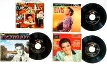 Lot 68: Elvis Presley (3) 45 RPM, Plus (1) Sleeve Only
