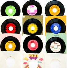 Lot 74: Various Artists (9) 45 RPM Records