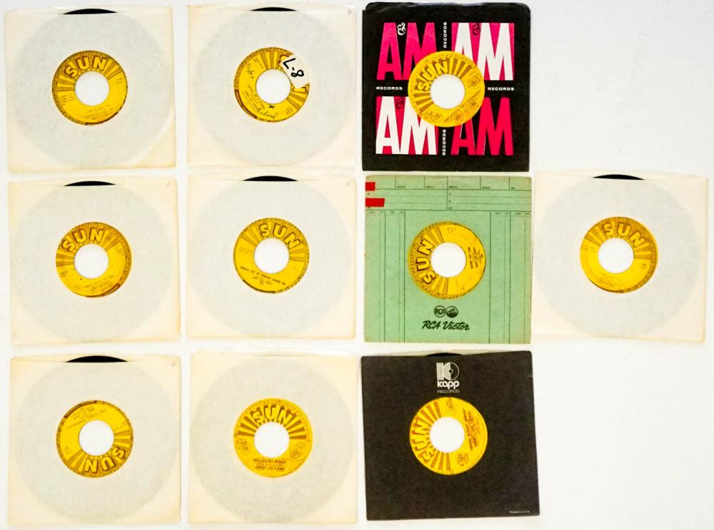 Jerry Lee Lewis (10) 45 RPM Records