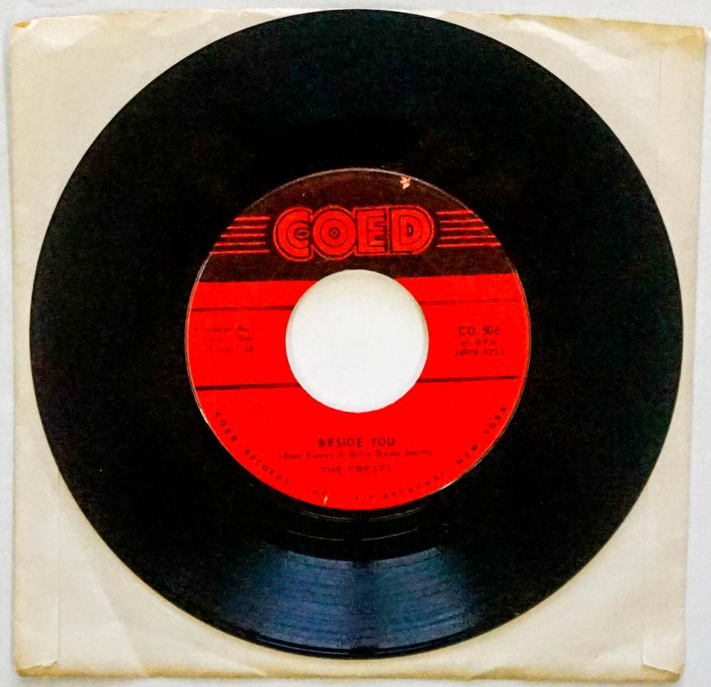 The Crests '16 Candles' 45 RPM