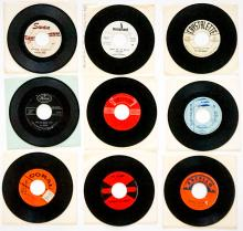 Lot 84: Various Artists (9) 45 RPM Records