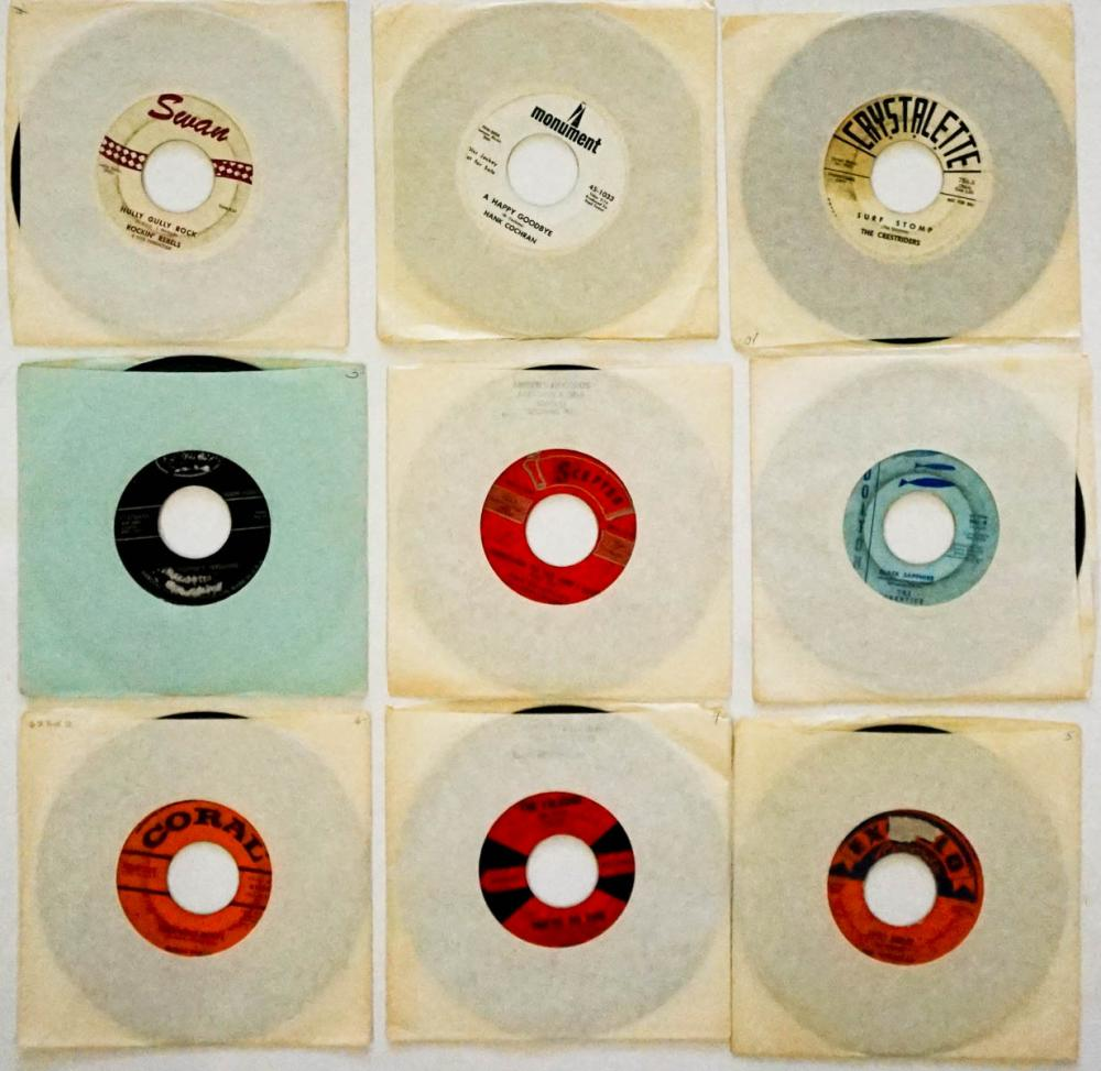 Various Artists (9) 45 RPM Records