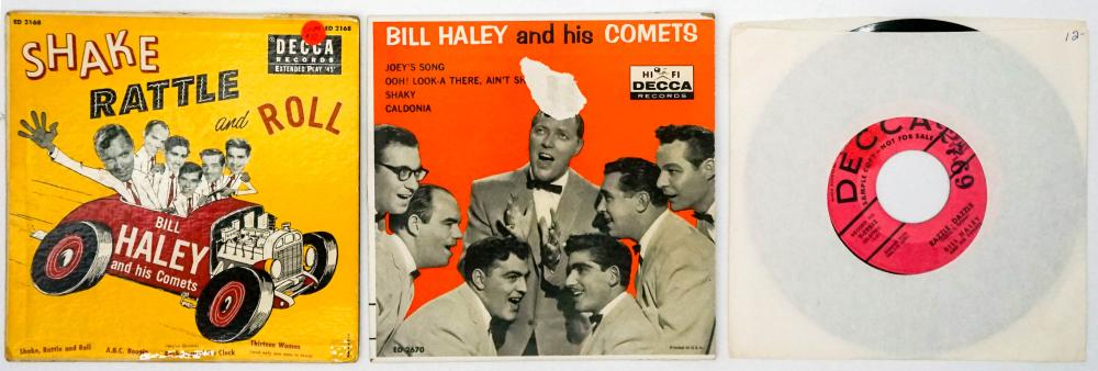 Lot 92: Bill Haley Collection of 45 RPM Records (24)