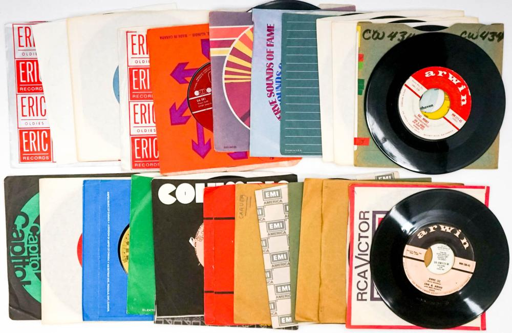 Lot 94: Various Artists (26) 45 RPM Records