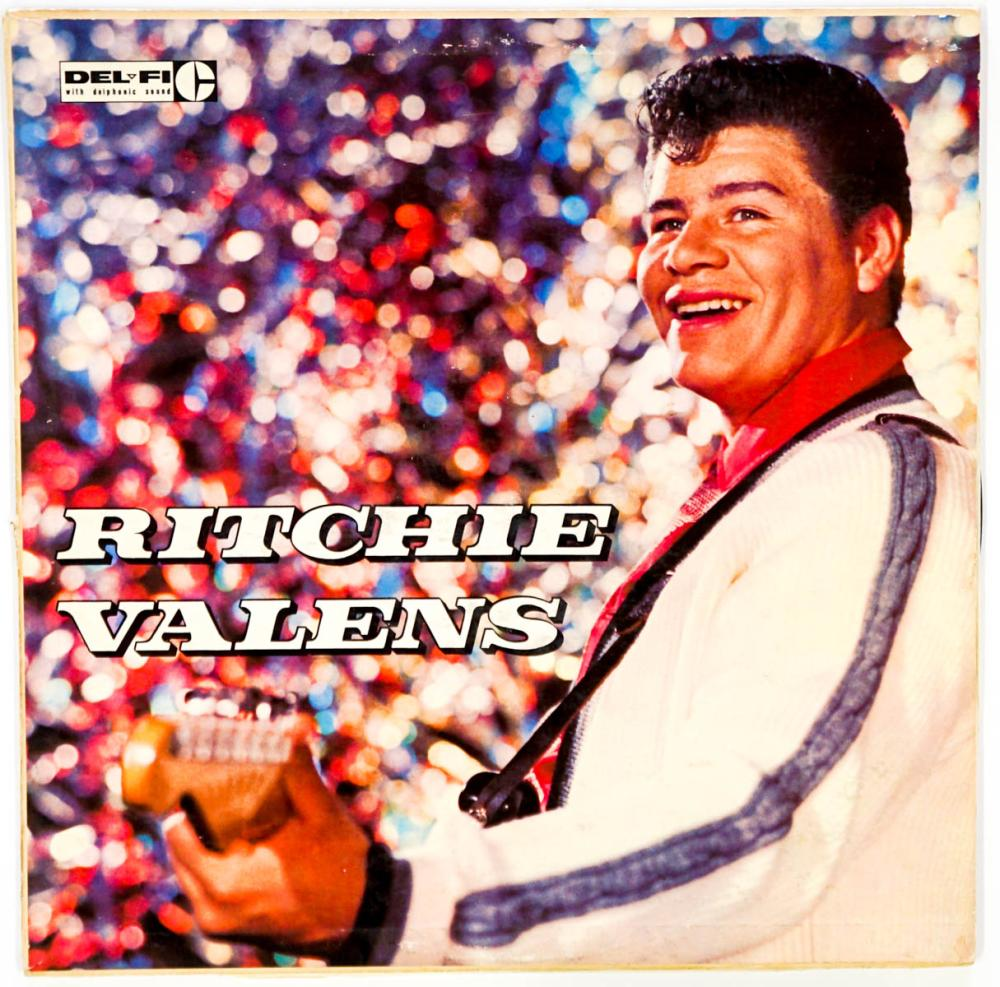 Lot 98: Ritchie Valens Album Error on Back Cover