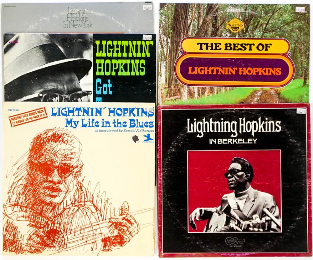 Lightnin' Hopkins (5) Albums