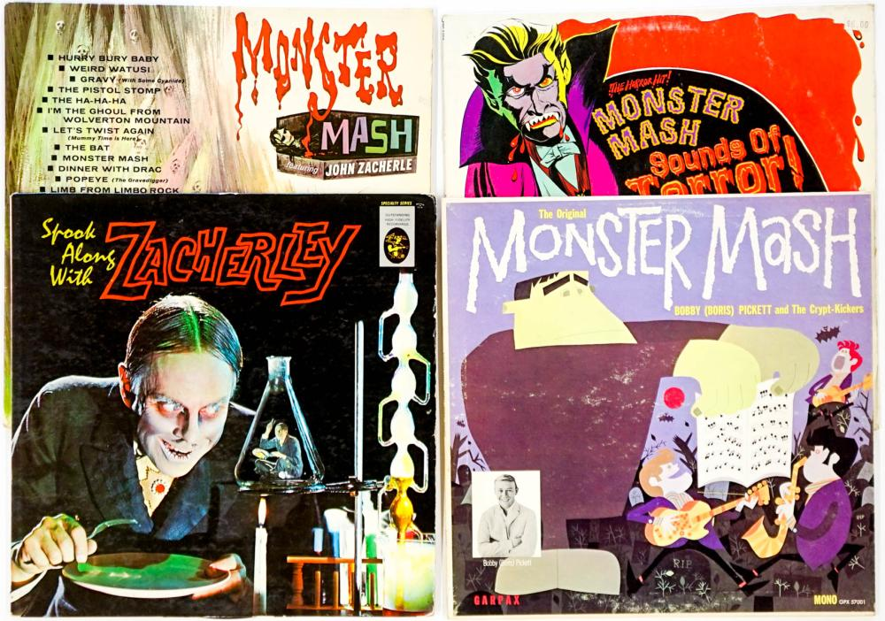Monster (4) Albums; Monster Mash and More