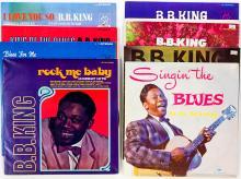 Lot 102: B. B. King (10) Albums