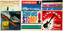 Lot 99: Surf and Rock (6) Albums