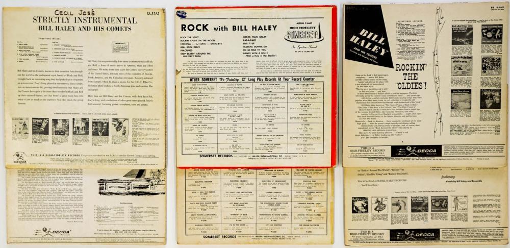 Lot 104: Bill Haley (6) Albums