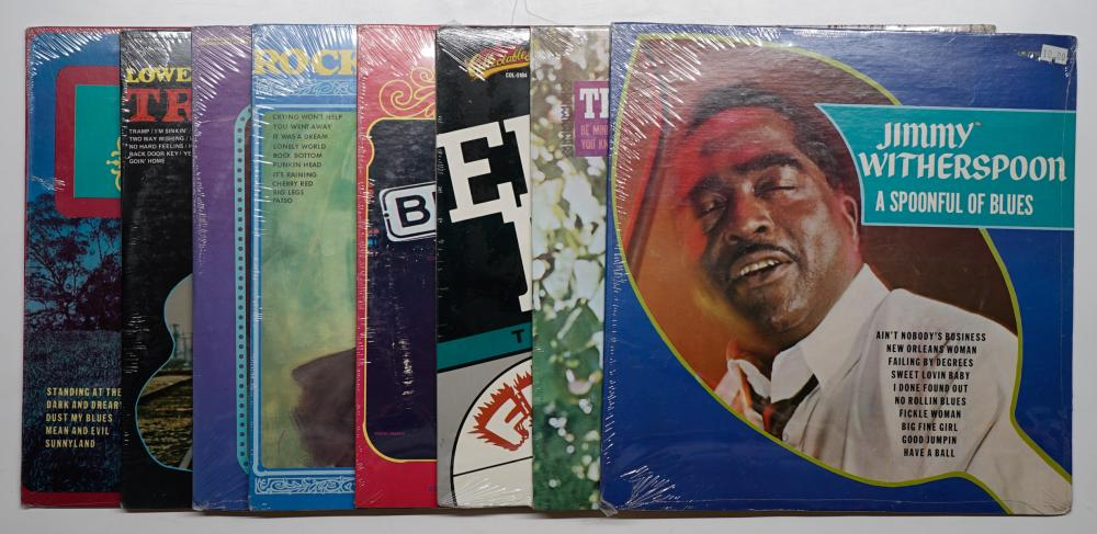 Lot 106: Assorted Blues LP's Factory Sealed (8)