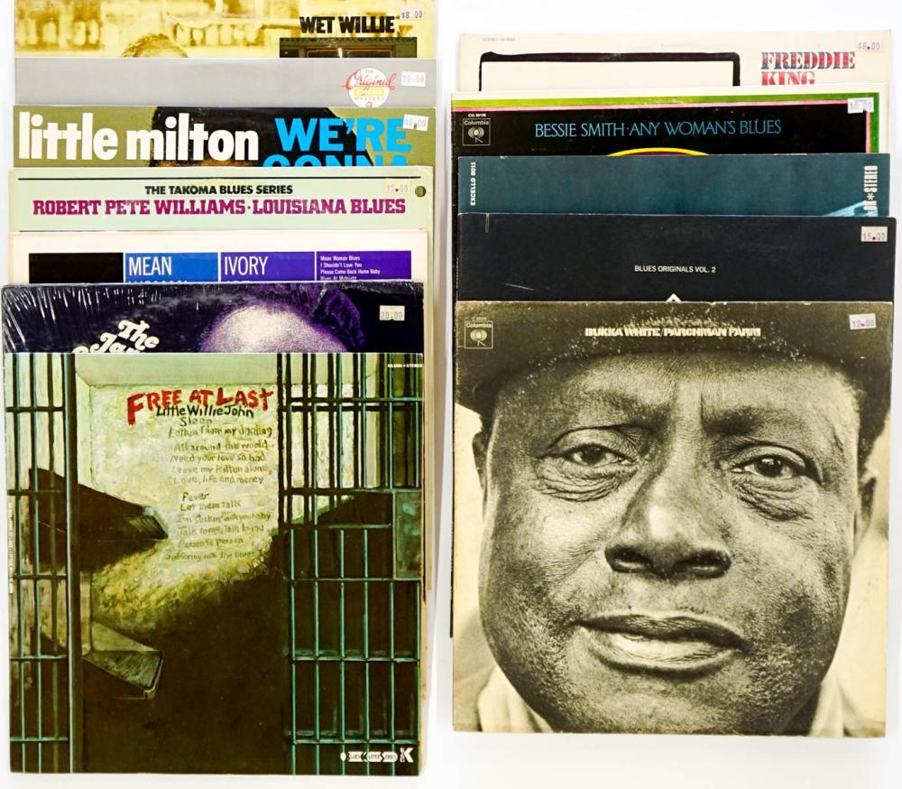 Vintage Blues Assorted LP's (12) Albums