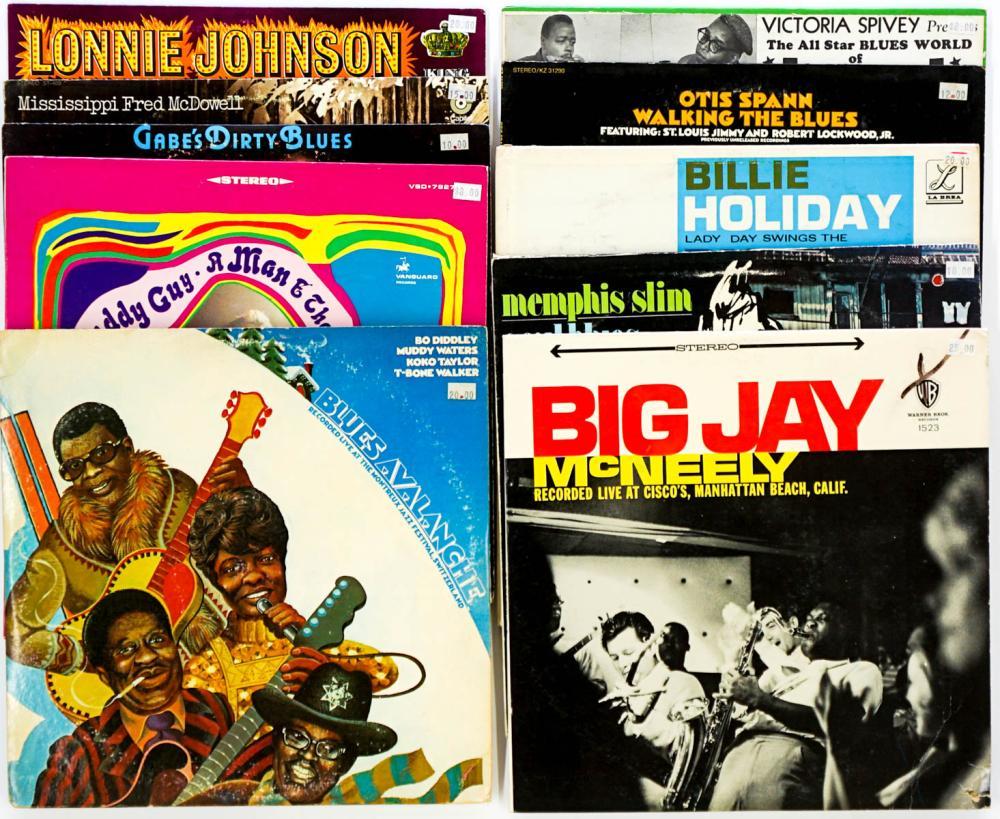 Assorted Blues LP's (10) Albums
