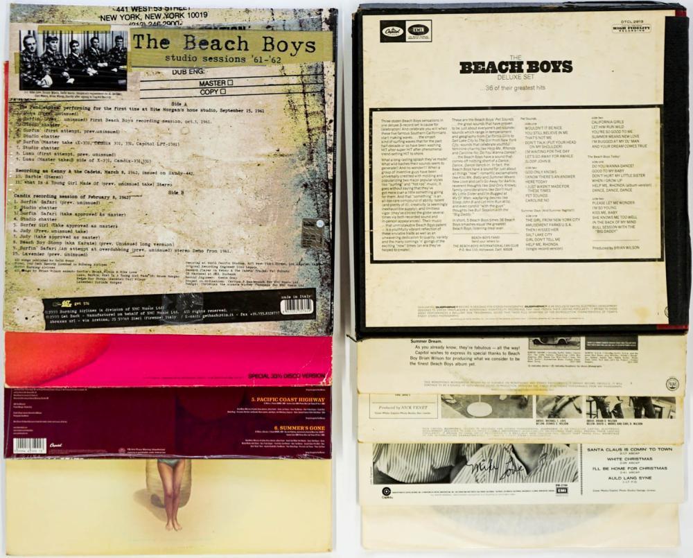 Lot 111: The Beach Boys (9) Albums