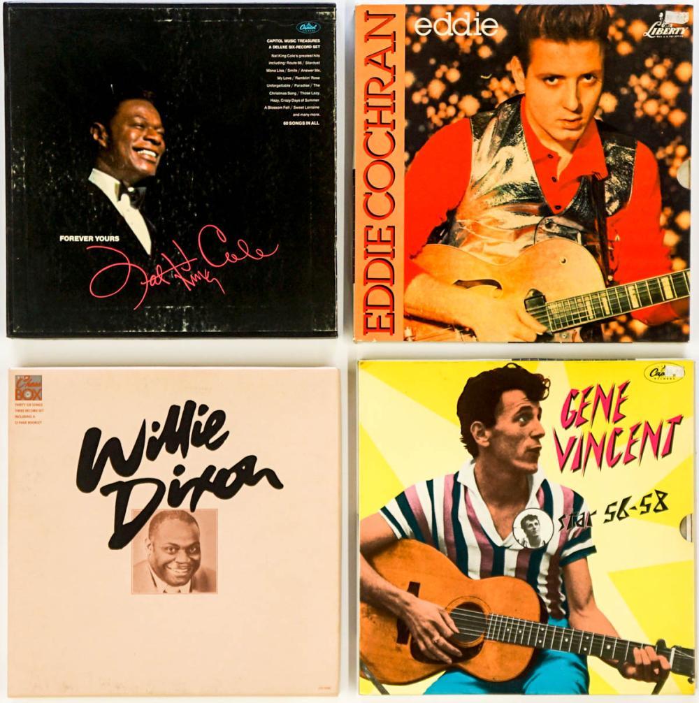 Deluxe Album Sets (4) Cole, Dixon and More.