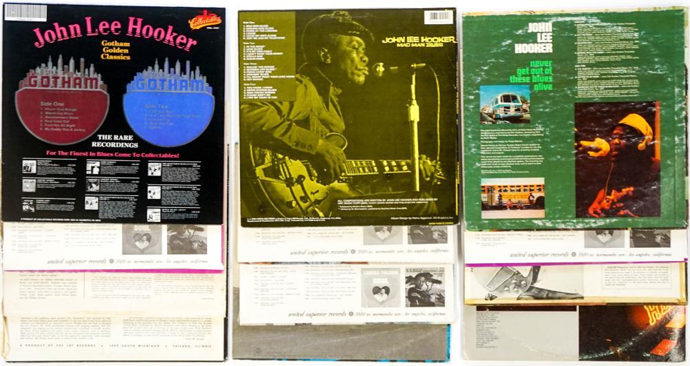 Lot 110: John Lee Hooker (12) Albums