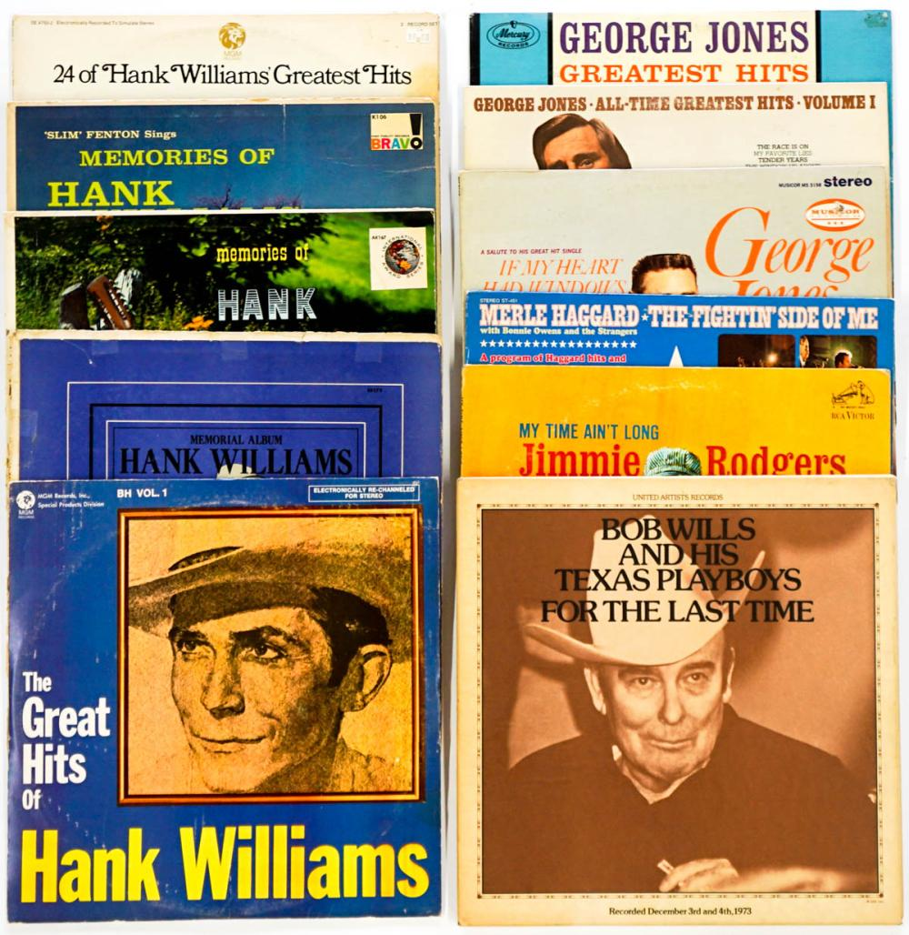 Country Artists (11) Williams, Jones and More