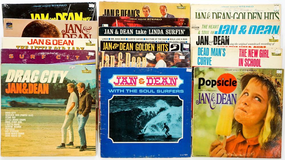 Jan and Dean (16) Surf Albums
