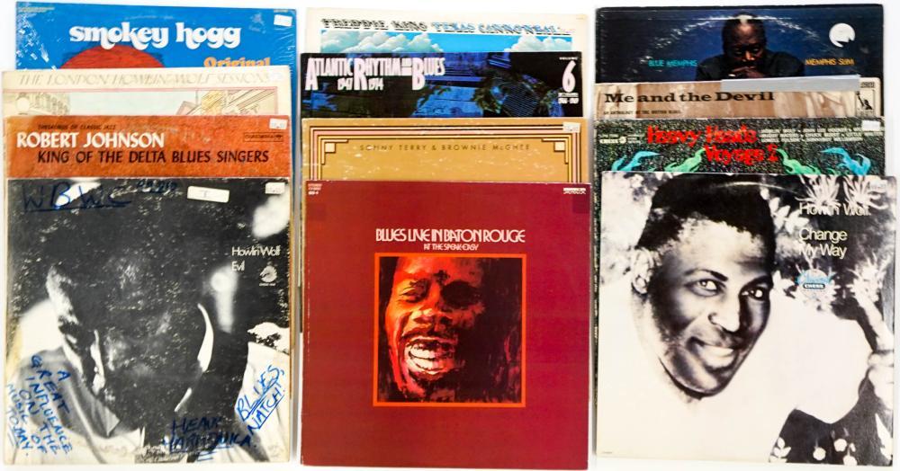 Assorted Blues LP's (12) Albums