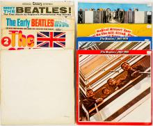 Lot 116: The Beatles Music (9) Albums
