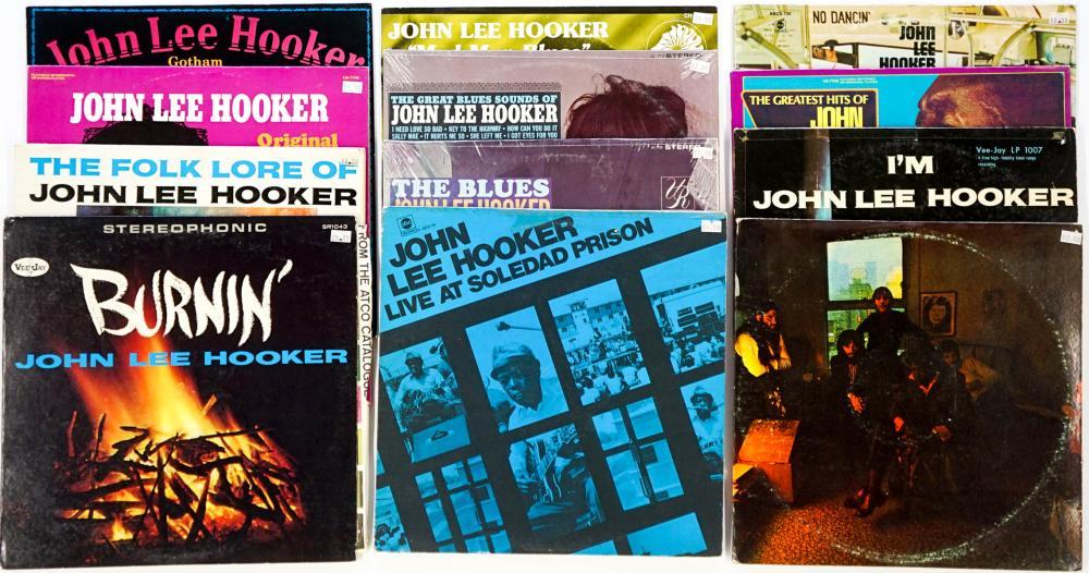 John Lee Hooker (12) Albums