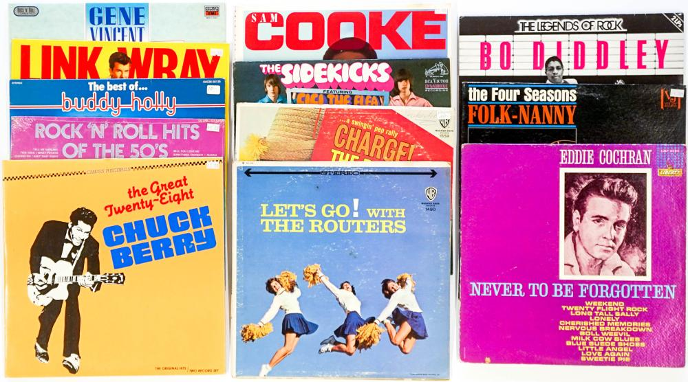 Vintage Assorted LP's (12) Albums