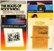 Lot 119: Rock 'n Roll LP's (12) ZZ Top, Joan Jett and More