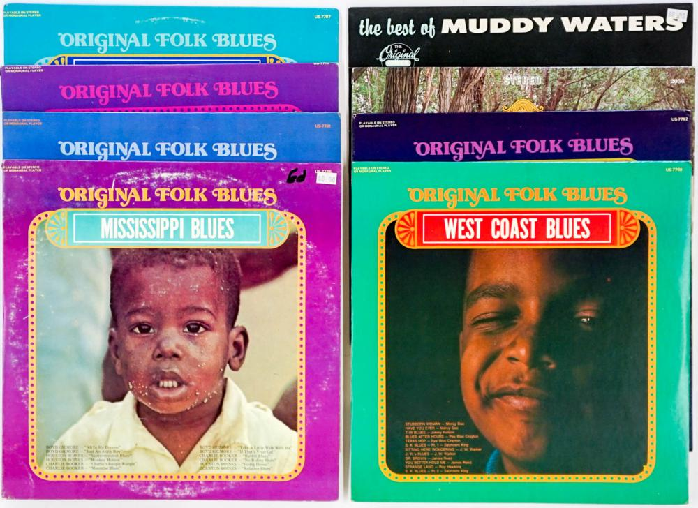 Lot 120: Assorted Blues LP's ( 8) Muddy Waters and More