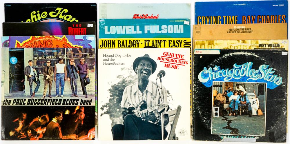 Assorted Blues LP's (12) Taj Mahal and More