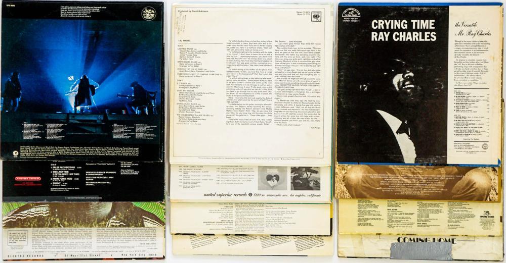 Lot 121: Assorted Blues LP's (12) Taj Mahal and More