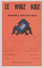 Lot 250B: Ze Whiz Kids Concert Poster