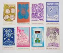 Lot 125: Bill Graham Presents and Other Concert Tickets (8)