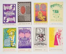 Lot 126: Bill Graham Presents and Other Concert Tickets (8)