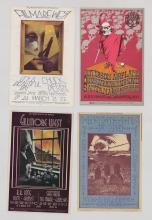 Lot 66: Bill Graham Rock 'n Roll Handbills (4)