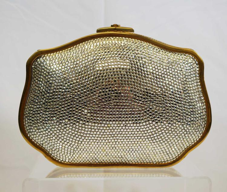 Judith Leiber Crystal Evening Bag
