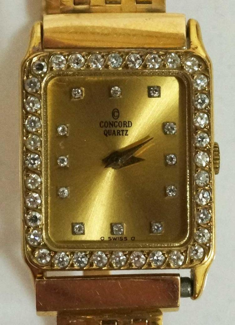 Lady's Concord 14K Yellow Gold Watch
